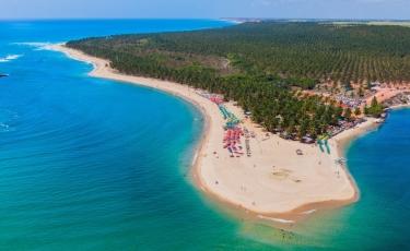 Circuito Praias: Barra de São Miguel e Praia do Gunga - Saída de Maceió